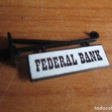 Juguetes antiguos Exin: EXIN WEST AÑOS 70 : CARTEL FEDERAL BANK ( EXIN CASTILLOS ). Lote 279500973