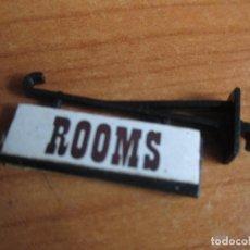Juguetes antiguos Exin: EXIN WEST AÑOS 70 : CARTEL POR LAS DOS CARAS ROOMS ( EXIN CASTILLOS ). Lote 279501088