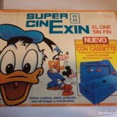 Juguetes antiguos Exin: CINE EXIN CON 5 PELÍCULAS. Lote 279509908