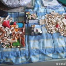 Juguetes antiguos Exin: LOTE DE EXIN CASTILLO CLASICO SERIE AZUL. Lote 279593698