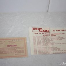 Juguetes antiguos Exin: DOCUMENTACIÓN PELÍCULAS CINEXIN.. Lote 282553053