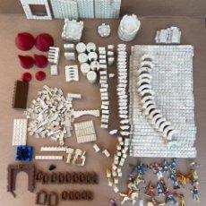 Brinquedos antigos Exin: GRAN LOTE PIEZAS EXIN CASTILLO. MÁS DE 3 KILOS. Lote 282569338