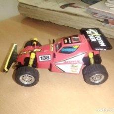 Brinquedos antigos Exin: BUGGY ROJO - SCALEXTRIC TT EXIN - STORM RIDER. Lote 286313183