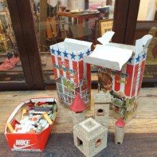Brinquedos antigos Exin: GRAN LOTE EXIN CASTILLOS, PIEZAS.. Lote 286532593