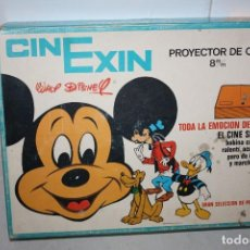 Brinquedos antigos Exin: ANTIGUO CINEXIN NARANJA. Lote 286607103