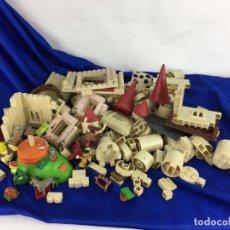 Brinquedos antigos Exin: LOTE DE PEIZAS EXIN CASTILLOS SHREK. Lote 287357448