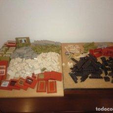 Juguetes antiguos Exin: EXIN WEST LOTE DE 460 PIEZAS. Lote 287590643