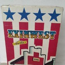 Brinquedos antigos Exin: CAJA ORIGINAL DEL HOTEL DE EXIN WEST. Lote 287687618