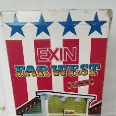 Brinquedos antigos Exin: CAJA ORIGINAL DEL HOTEL DEL SALOON DE EXIN WEST. Lote 287688333