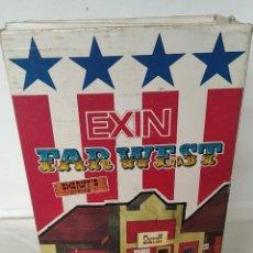 Brinquedos antigos Exin: CAJA ORIGINAL DE LA OFICINA DEL SHERIFF DE EXIN WEST. Lote 287690498