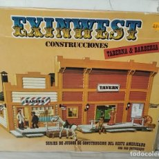 Brinquedos antigos Exin: CAJA ORIGINAL DE LA TABERNA-BARBERÍA DE EXIN WEST. Lote 287692353