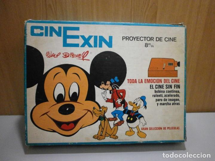 CINEXIN EN CAJA FUNCIONANDO (Juguetes - Marcas Clásicas - Exin)