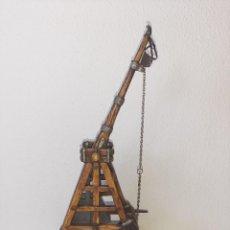 Juguetes antiguos Exin: ELASTOLIN : ANTIGUA CATAPULTA - HISTOREX - EXIN CASTILLOS MADE IN GERMANY AÑOS 70. Lote 288604108