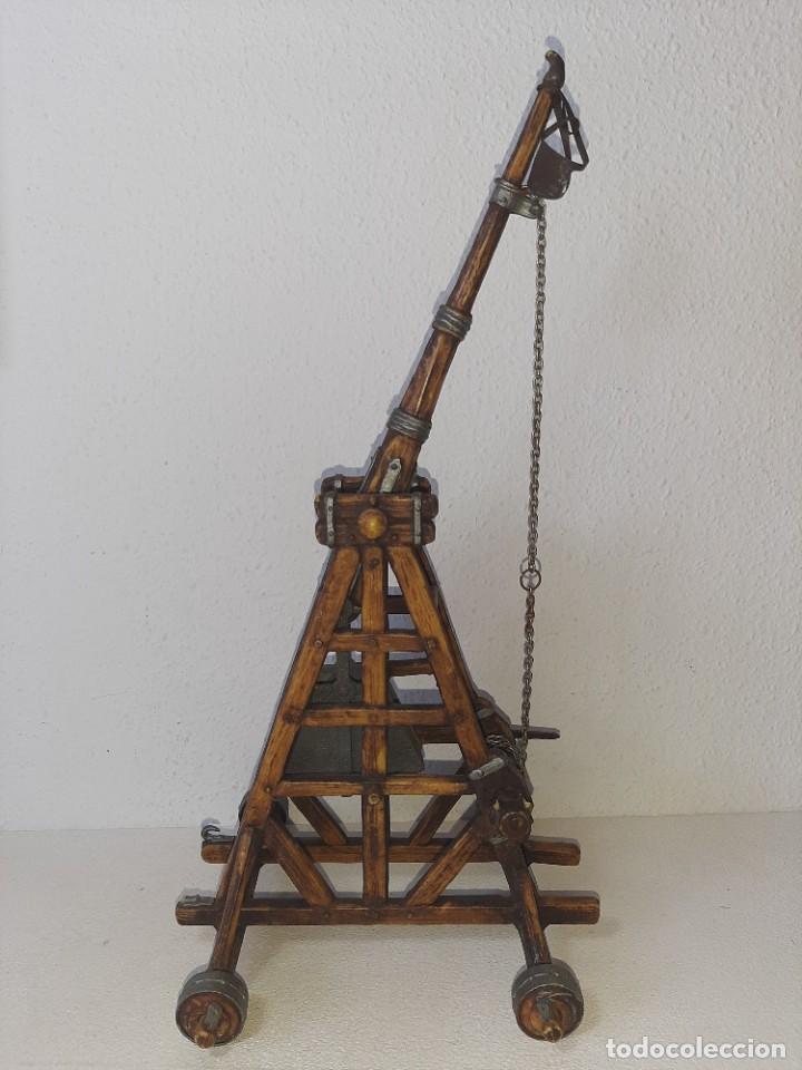 Juguetes antiguos Exin: ELASTOLIN : ANTIGUA CATAPULTA - HISTOREX - EXIN CASTILLOS MADE IN GERMANY AÑOS 70 - Foto 2 - 288604108