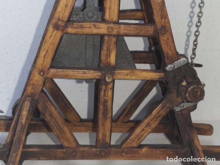 Juguetes antiguos Exin: ELASTOLIN : ANTIGUA CATAPULTA - HISTOREX - EXIN CASTILLOS MADE IN GERMANY AÑOS 70 - Foto 7 - 288604108