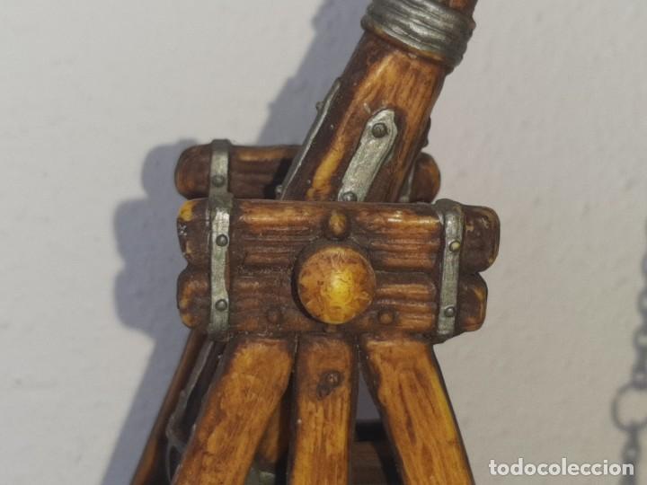 Juguetes antiguos Exin: ELASTOLIN : ANTIGUA CATAPULTA - HISTOREX - EXIN CASTILLOS MADE IN GERMANY AÑOS 70 - Foto 8 - 288604108