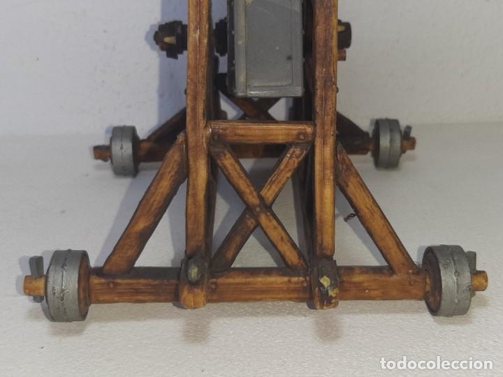 Juguetes antiguos Exin: ELASTOLIN : ANTIGUA CATAPULTA - HISTOREX - EXIN CASTILLOS MADE IN GERMANY AÑOS 70 - Foto 11 - 288604108