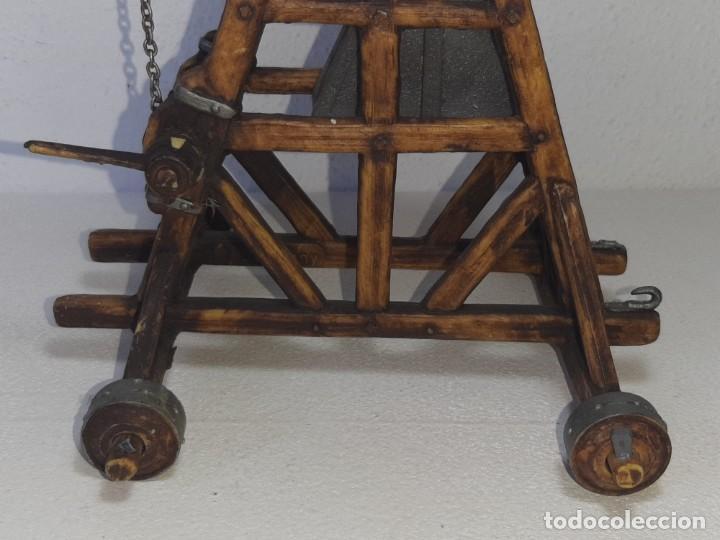 Juguetes antiguos Exin: ELASTOLIN : ANTIGUA CATAPULTA - HISTOREX - EXIN CASTILLOS MADE IN GERMANY AÑOS 70 - Foto 18 - 288604108