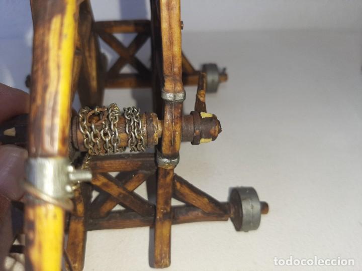 Juguetes antiguos Exin: ELASTOLIN : ANTIGUA CATAPULTA - HISTOREX - EXIN CASTILLOS MADE IN GERMANY AÑOS 70 - Foto 33 - 288604108