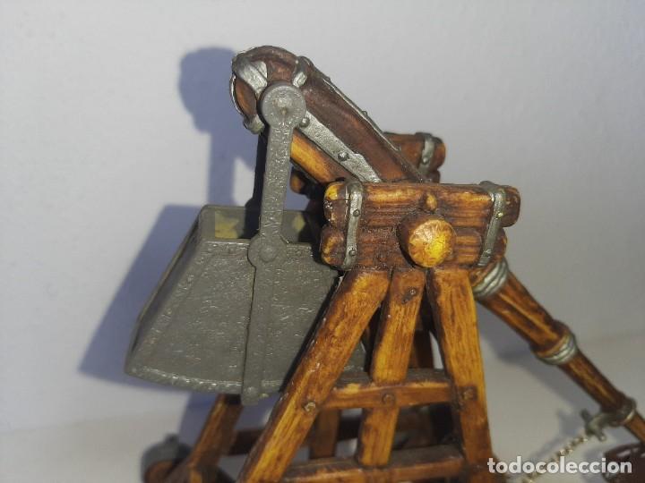Juguetes antiguos Exin: ELASTOLIN : ANTIGUA CATAPULTA - HISTOREX - EXIN CASTILLOS MADE IN GERMANY AÑOS 70 - Foto 35 - 288604108