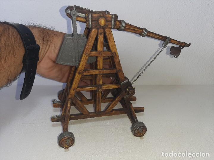 Juguetes antiguos Exin: ELASTOLIN : ANTIGUA CATAPULTA - HISTOREX - EXIN CASTILLOS MADE IN GERMANY AÑOS 70 - Foto 40 - 288604108