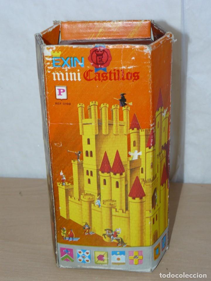 EXIN CASTILLOS MINI CASTILLOS CAJA REF. 0198 EXINCASTILLOS MADE IN SPAIN ORIGINAL AÑOS 70 CASTLE TOY (Juguetes - Marcas Clásicas - Exin)