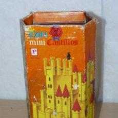 Juguetes antiguos Exin: EXIN CASTILLOS MINI CASTILLOS CAJA REF. 0198 EXINCASTILLOS MADE IN SPAIN ORIGINAL AÑOS 70 CASTLE TOY. Lote 288652848