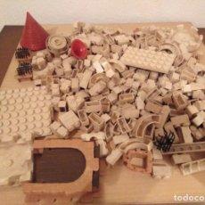 Juguetes antiguos Exin: LOTE EXIN CASTILLOS 350 PIEZAS. Lote 292390648