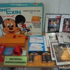Juguetes antiguos Exin: ENVIO: 7€ PROYECTOR CINEXIN EL CINE SIN FIN 1973 CON PELICULA FUNCIONANDO,CON EXTRAS Y REGALOS!. Lote 297101158