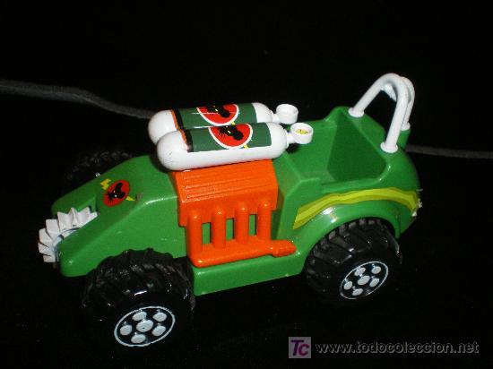 Juguetes antiguos Gozán: bonito lote de coches gozan hechos en españa - Foto 3 - 17643580