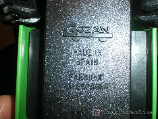 Juguetes antiguos Gozán: bonito lote de coches gozan hechos en españa - Foto 4 - 17643580