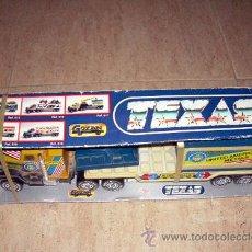 Juguetes antiguos Gozán: CAMION TEXAS, DE GOZAN. NUEVO DE TIENDA, EN SU CAJA. Lote 16980080