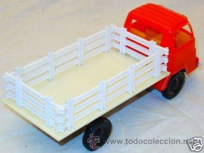 Juguetes antiguos Gozán: GOZAN Camión de carga Vallas AÑOS 60 !!! - Foto 2 - 11484008