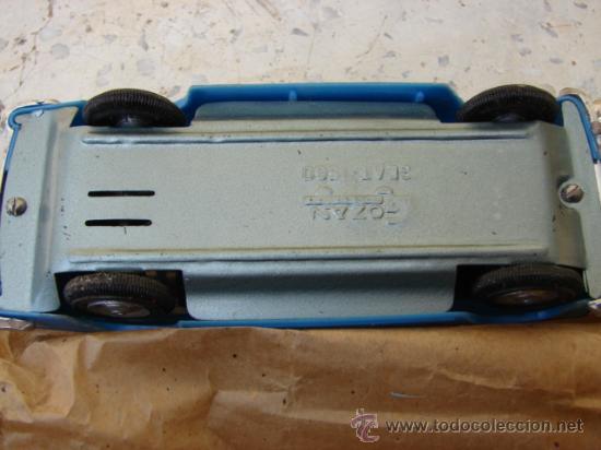 Juguetes antiguos Gozán: CAMIÓN BERNARD PORTACOCHES SEAT 1500 - GOZÁN - Foto 10 - 22932358