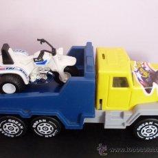 Altes Spielzeug Gozán - camion porta motos de gozan de chapa y plastico - 22524924