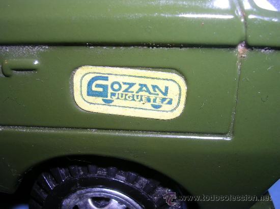 Juguetes antiguos Gozán: GOZAN CAÑON +CAMION AÑOS 70 - Foto 9 - 27614373