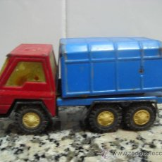 Brinquedos antigos Gozán: CAMIÓN DE BASURA - SERIE FURIA DE GOZÁN PARA REPARAR. Lote 25465818