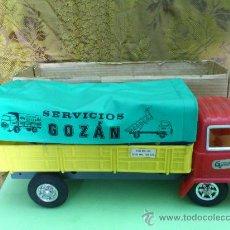 Juguetes antiguos Gozán - GOZAN PRECIOSO Y ENORME CAMION ELECTROMECANICO CON FALTAS... - 31783754