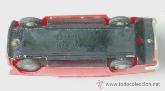 Juguetes antiguos Gozán: ANTIGUO COCHE SEAT 1500 DE GOZÁN - Foto 3 - 33541742