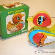 Juguetes antiguos Gozán: PATO COMILON DE GOZAN AÑOS 70. Lote 48461070