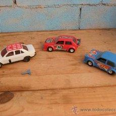 lote 3 coches,2 gozan,otro a cuerda,volkswagen golf