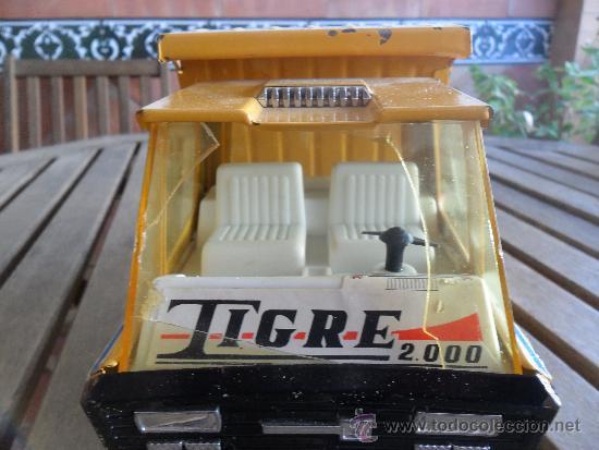 Juguetes antiguos Gozán: CAMION TIGRE DE GOZAN - Foto 2 - 34648740