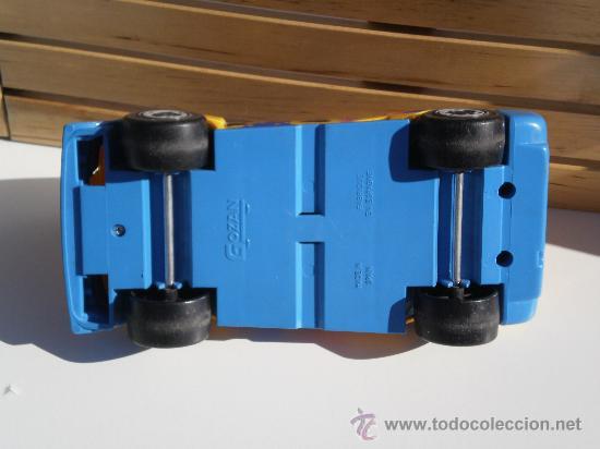 Juguetes antiguos Gozán: COCHE PEUGEOT- GOZAN ( MADE IN SPAIN ) DE ARRASTRE . PVC . - Foto 4 - 35833711