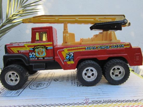 Juguetes antiguos Gozán: camion de bomberos gozan - super -pumper system - ver fotos - Foto 5 - 36404158