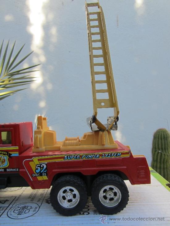 Juguetes antiguos Gozán: camion de bomberos gozan - super -pumper system - ver fotos - Foto 3 - 36404158