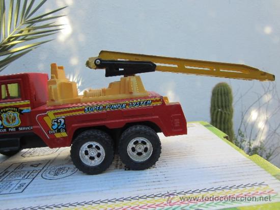 Juguetes antiguos Gozán: camion de bomberos gozan - super -pumper system - ver fotos - Foto 2 - 36404158