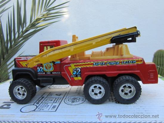 Juguetes antiguos Gozán: camion de bomberos gozan - super -pumper system - ver fotos - Foto 4 - 36404158