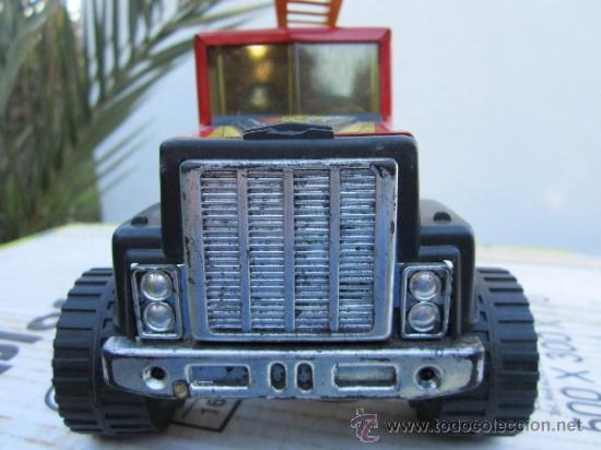 Juguetes antiguos Gozán: camion de bomberos gozan - super -pumper system - ver fotos - Foto 6 - 36404158