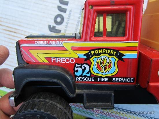Juguetes antiguos Gozán: camion de bomberos gozan - super -pumper system - ver fotos - Foto 7 - 36404158