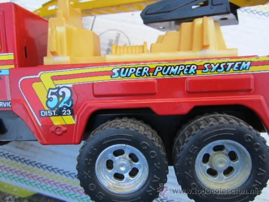 Juguetes antiguos Gozán: camion de bomberos gozan - super -pumper system - ver fotos - Foto 8 - 36404158
